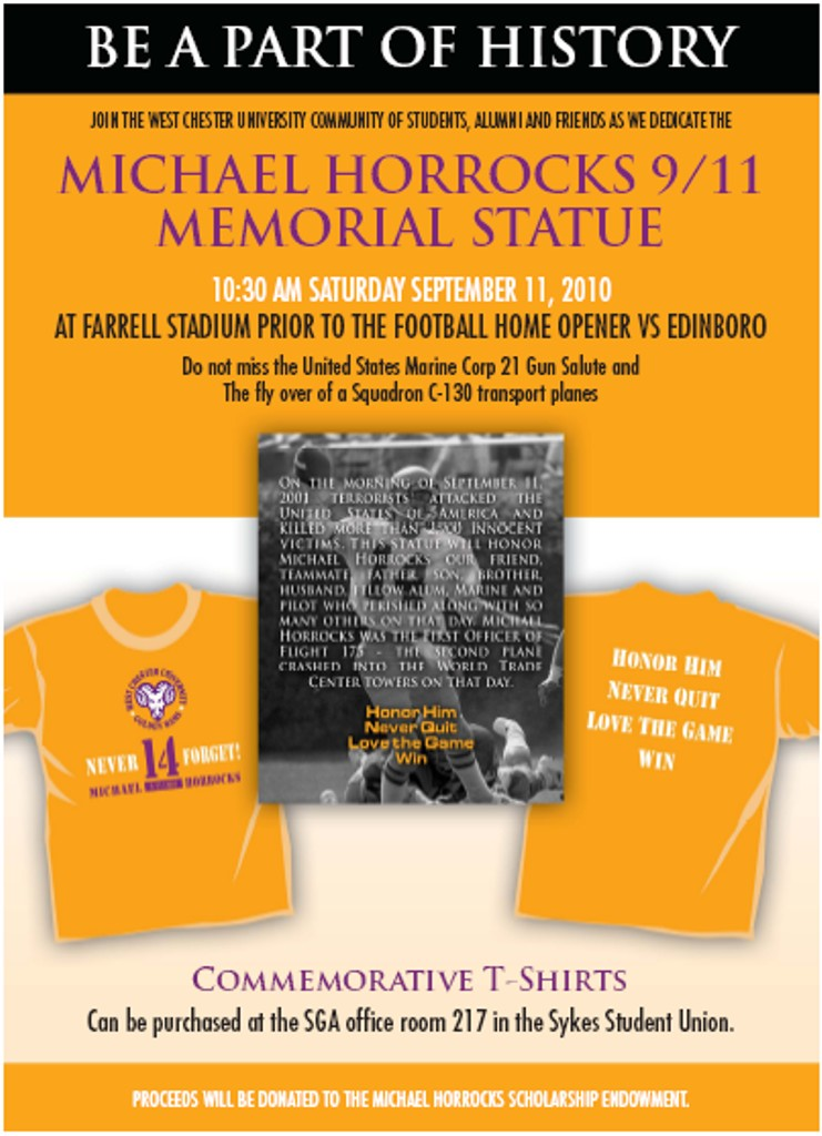 michael horrocks 11/9 Scholarship Fund mininno law office