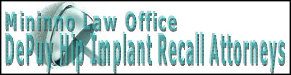 new jersey philadelphia depuy orthopaedics hip implant recall attorneys